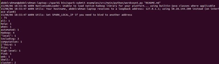 Spark - Submit Python Code